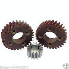 2 x hobart malaxeur planetary gear & 1 x shaft gear set for A120/A200