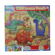 Traditional Games: 3D Dinosaur Puzzle 48 Pieces Young Childrens 3+ Years.