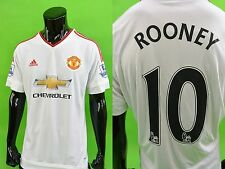 adidas Manchester United 2015-16 Away Patch Shirt ROONEY 10 SIZE L (adults)