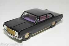 VEB PLASTICART PLASTIC OPEL REKORD BLACK NEAR MINT CONDITION REPAINT