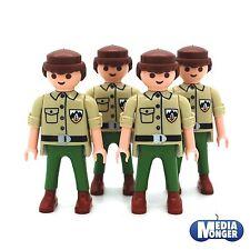 playmobil® 4 x Grundfigur: Ranger | Abenteurer | ACW | Soldat | Pfadfinder