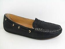 NiB Women's SPERRY TOP-SIDER 'Gold Penny Driver' BLACK LOAFER U.S sz 6.5M
