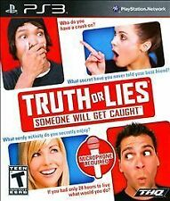 PlayStation 3 Truth or Lies VideoGames