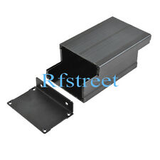 Electronic Project Aluminum Box Enclosure Case - 110*73*47mm (L*W*H) #1266 Black