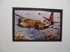 Martin B 26 Marauder Bomber Revell Model Airplane Box Top Art Color  artist G2