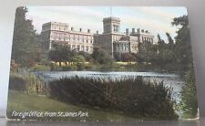 Cartolina Foreign Office from St. James Park - London - postcard