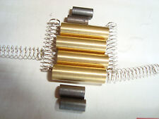 4 Sets Electrical Pickup Kit With Tubes, Springs, Brushes fit LGB, Bachmann, USA