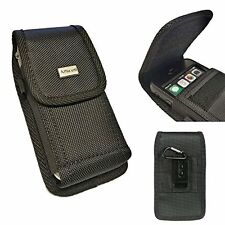 XL Size Premium Holster Nylon Pouch Case Fits iPhone 7 Plus with Lifeproof cover