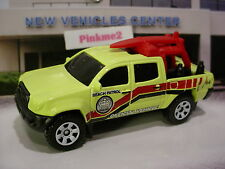 2016 Matchbox TOYOTA TACOMA truck☆Yellow/Red;Beach Patrol☆LOOSE☆HEROIC RESCUE
