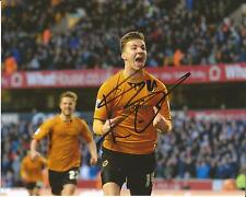 Hand Signed 8x10 photo LEE EVANS Wolves Wolverhampton Wanderers Football Club