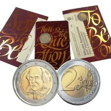 2 euro SAN MARINO 2016 400° Ann. della morte di WILLIAM SHAKESPEARE