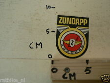 STICKER,DECAL ZUNDAPP MOTORCYLE,MOPED ZÜNDAPP