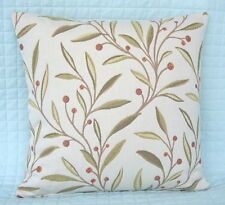 "Shabby Chic Retro Style Cushion Cover/16""x16""/John Lewis GUELDER Fabric"