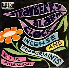 """7"""" Strawberry Alarm Clock – Incense And Peppermints // Rare Germany 1967"""