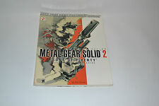 METAL GEAR SOLID 2: SONS OF LIBERTY + GUIDA STRATEGICA + BRADYGAMES