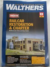 HO Scale Railcar Restoration & Charter Structure Kit - Walthers #933-4024