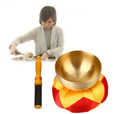 Bell Metal Buddhism Singing Bowl Buddhist Healing Relaxation With Cushion