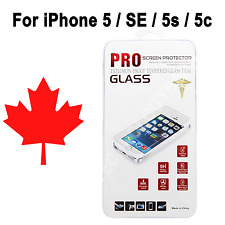 Premium Tempered Glass Screen Protector for iPhone 5 SE 5S 5C