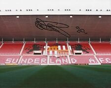 SUNDERLAND: OLA TOIVONEN SIGNED 10x8 GROUND PHOTO+COA