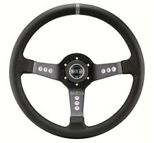 "SPARCO L777 STEERING WHEEL 350MM 13.78"" DIAMETER WITH 63MM 2.48"" DISH CONCAVE"