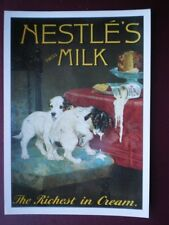 POSTCARD  NESTLES SWISS MILK - THE RICHEST IN CREAM
