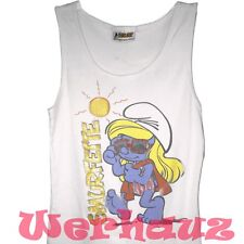The Smurfs Smurfette Juniors Tank Top (Medium)