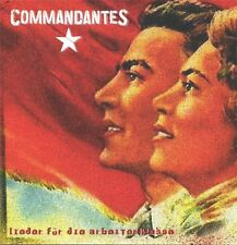 Commandantes - Songs for die Working class CD