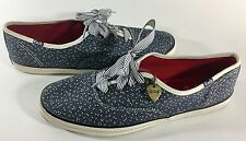 Woman's Keds Taylor Swift Shoes Sneakers Canvas blue/white  size 10  (wo)