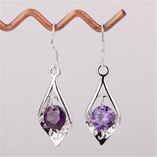 2016 New Christams Gift Jewelry Silver  Crystal Earrings Earring B925