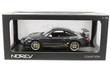 Norev 2010 Porsche 911 GT3 RS 997 Dark Grey 1/18 Diecast Car Model 187569