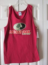 Gildan Mossy Oak Brand Men's Muscle T-Shirt CRD Red Size Small (34-36) NWT