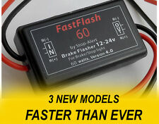 NEW FastFlash 60 Car Motorcycle LED Brake Stop Light Lamp Flasher Strobe Blinker