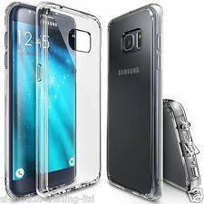 New Samsung Galaxy S7 Edge Thin Transparent /Clear Silicone Gel Case - UK Stock