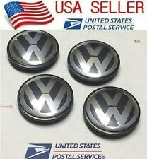 4Pcs Wheel center cap hubcap emblem Logo For VW Golf Jetta Beetle 56mm 1J0601171