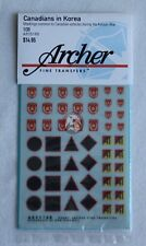 Archer 1/35 Canadian Vehicle Markings in Korean War [Dry transfer Decal] AR35168