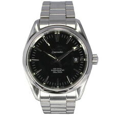 Gents Omega Seamaster Aqua Terra Co Axial Stainless Steel Black Dial 2500