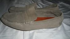 Florsheim Duckie Brown Penny Loafers Shoes Men's Size 9.5 D Gray