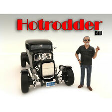 """HOTRODDERS"" BILL FIGURE FOR 1:24 SCALE MODELS BY AMERICAN DIORAMA 24030"