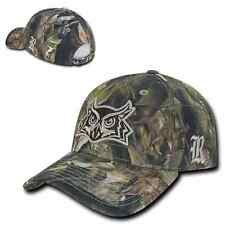 Rice University Owls Camo Structured Realtree Adjustable Baseball Ball Cap Hat