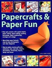 KATE LIVELY book step by step how to make Papercrafts and Paper Fun ..