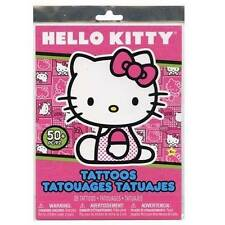 50+ HELLO KITTY Temporary Tattoos Child Birthday Party Favors Activity Supplies