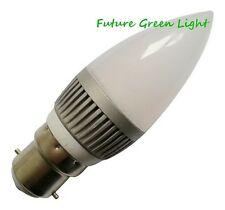 B22 CANDLE 12 LED 240V 2.5W 215LM DIMMABLE WHITE BULB ~40W