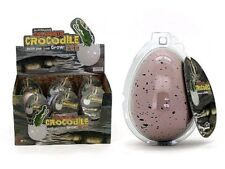 GROWING LARGE SALTWATER CROCODILE IN EGG PET ANIMAL NOVELTY TOY KIDS MAGIC TRICK