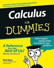 Calculus for Dummies® by Mark Ryan (2003, Paperback)