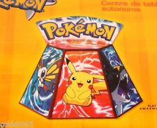 "NEW POKEMON PIKACHU STAND-UP CENTERPIECE DECORATION PARTY SUPPLIES 9"" X 9"""