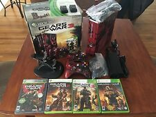 Microsoft Xbox 360 Gears of War 3 Limited Edition 320 GB Red & Black...