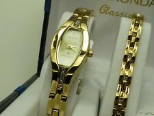 Sekonda 4538G Ladies Classique Diamond Set Watch & Bracelet Set RRP £99.99