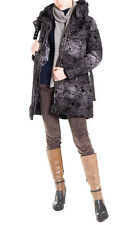 Desigual Size 38 / S Women's 48E2016 Quilted Jacket With Concealed Hood