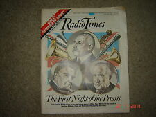 Radio Times  July 1984. John Player Special. Rover. Vauxhall. BMW. Adverts.
