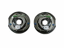 "2 x Dexter 12""x2"" Never-Adjust Nev-R-Adjust Electric Trailer Brake Backing Plate"
